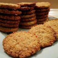 Ciasteczka owsiane - błyskawiczne