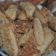 ciasteczka z amarantusem na jeden  kęs