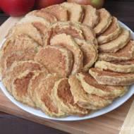 Placuszki z tartych jabłek