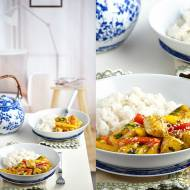 Orientalny kurczak curry z mango