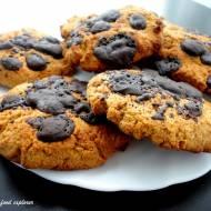 Pełnoziarniste ciasteczka z czekoladą