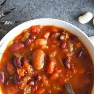 Wegańska zupa z fasoli