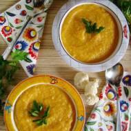 Zupa krem z kalafiora z batatem dla dzieci