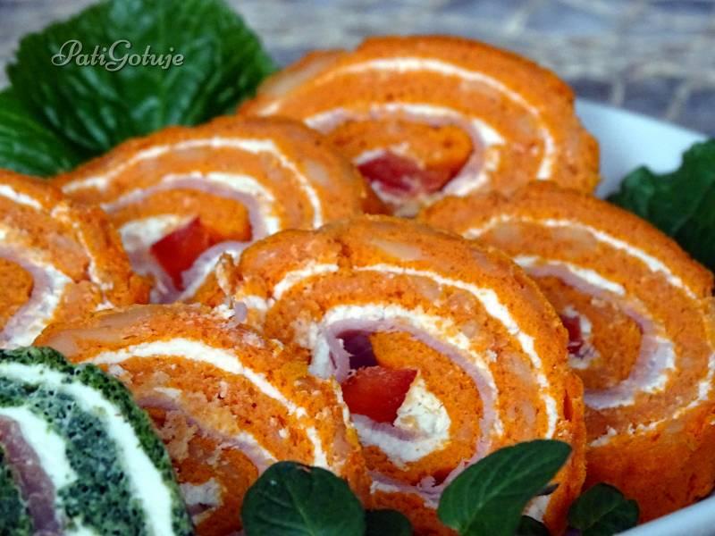 Pomidorowa rolada