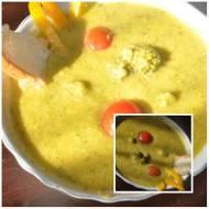 zupa-krem z pora i brokuła