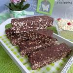 Blok czekoladowy z jagłami i żurawiną