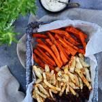 Frytki warzywne – zdrowa fit przekąska
