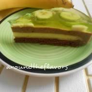 Bananowiec z galaretką