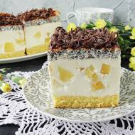 Ciasto makowo ananasowe