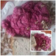 Pasta ze slonecznika i  kiszonego buraka