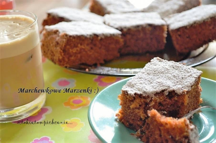 Marchewkowe ciasto Marzenki