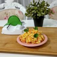 Sałatka z warzyw z rosołu