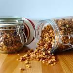 Cynamonowa granola z rodzynkami