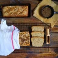 Chleb pszenno-żytni na zakwasie z kminkiem