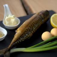 Pasta z makreli wędzonej z musztardą