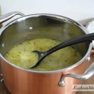 Zupa ogórkowa zryżem