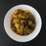 Curry z jagnięcej wątróbki