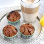 Muffinki kawowe z czekoladą