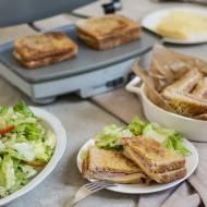 Chrupiący Pan czyli Croque Monsieur - najsłynniejsza francuska kanapka. Moja recenzja opiekacza Breville DuraCeramic VST071X