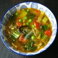 Zupa tybetańska.