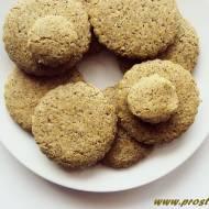 Ciastka z mąką konopną ( bez glutenu i masła )