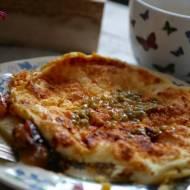Omlet z jabłkami i chrupiącą skorupką