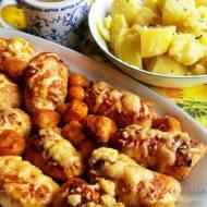 Roladki z indyka z szynką i serem