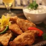 Pierożki z nadzieniem z kurczaka, czyli indyjskie Samosos