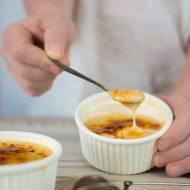 creme brulee przepyszny deser  (bez nabiału)