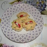 Jajka faszerowane tuńczykiem i porem