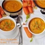 Zupa marchewkowa z kurkumą