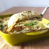 Białe enchiladas z kurczakiem