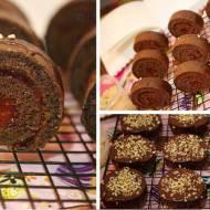 Czekoladowe Rollsy. / Chocolate Rolls.