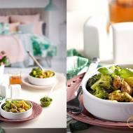 Makaron z kurczakiem, brokułem i pesto bazyliowym