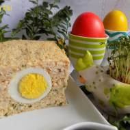 Wielkanocny pasztet drobiowy