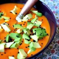 Zupa-krem z kapusty i pomidorów