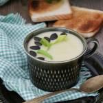 Kremowa zupa ziemniaczano-porowa