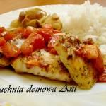 Ryba zapiekana z pomidorami