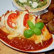 """Kurczak  """" Caserta """" , prosty obiad"""