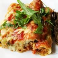 Cannelloni z mięsem mielonym i beszamelem