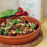 Naleśniki Teff zapiekane z sosem a'la bolognese