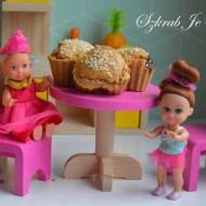 Orzechowe babeczki nadziewane lnianym puddingiem - bez cukru i glutenu