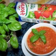 Pomidorówka jaglana z kurczakiem