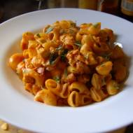 """ Pasta con pollo di bari "" szybki makaron z kurczakiem"