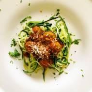 Zucchini – czyli warzywne spaghetti bolonese