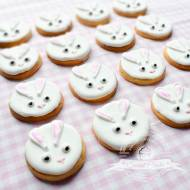 Kruche ciasteczka - króliczki