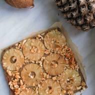Piña colada, czyli przepis na baaaardzo kokosowe ciasto z ananasem