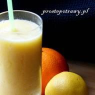 Smoothie z żółtych owoców