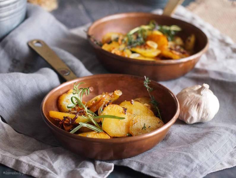 Smażone ziemniaki z ziołami / Sauteed potatoes