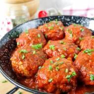 Leniwe gołąbki w sosie pomidorowym